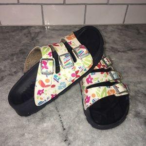 Birkenstock Shoes Mayari Oiled Leather Sandals 35 5